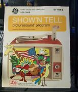 Fairy Tales And Cartoons Showand039n Tell St-169 S Los Tres Picturesound Program New