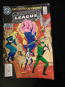 Dc Justice League America 225 Cover Color Guide Production Art Signed W/ Coa