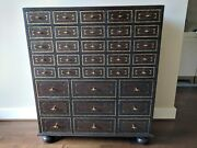 Only One Left Maitland - Smith Vtg 29 Drawer Apothecary Medicine Chests 99