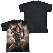 Wonder Woman Movie Protector Sublimation Menand039s Graphic Tee Shirt Sm-3xl