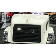 Volvo Vnl Hood 2004 And Up W/headlights Grill And Air Intakes By Jones - Made In Usa