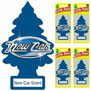 Little Trees Air Freshener New Car Scent Pack Of 24