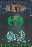 Used Loudness Devil Soldier Japan Band Score Guitar Tab