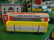Lionel Trains No. 16380 Union Pacific Center I-beam Flat Car 1993 - Very Nice