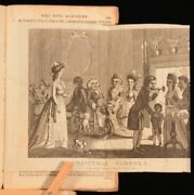 1784 The Witand039s Magazine July To December 1784 Engravings Periodical Humor Poems