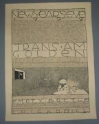 Jay Ryan Trans Am Empty Bottle Chicago Poster Print New Years Eve 1999 Y2k