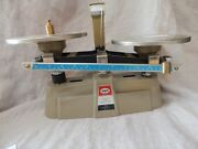 Vintage Ohaus Harvard Trim 5 Lb Trip Balance Scale Model 1312 With Weight