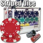 600 Dice Poker Chips, Acrylic Case, 36x72 Felt Layout, Timer + More - Great Deal