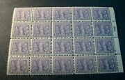 Us Plate Blocks Stamps Scott 537 Victory Issue Mnh Blk Of 20 1919 L243