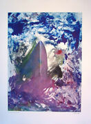 Arthur Secunda The Sinking Of The Titanic 2008 Mixed Media Color Monotype