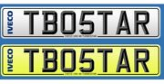 Iveco Turbostar Number Plate.... Truck Lorry.. Private Personalised Cherished.
