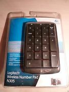 New Blue Exclusive Number Pad Keyboard Logitech N305 Discontinued Keypad Rare