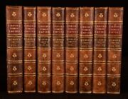 1855 8vols The History Of The Decline And Fall Of The Roman Empire Illustrated
