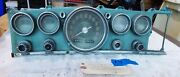 1963 Chrysler New Yorker Instrument Panel With All Gagues, Switches And Lighter 7