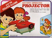 Fortuna Vintage Battery Operated Projector