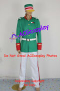 Howls Moving Castle King Cosplay Costume Include Cap And Belt Acgcosplay