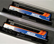 Kato 1769105 And 1769106 N F40ph Chicago Metra 2-loco Set 176-9105 And 176-9106