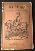 Zachary Taylor / Brilliant National Record General Taylorandrsquos Life Battles 1st