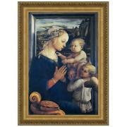 Design Toscano Madonna And Child With Two Angels 1465 Medium