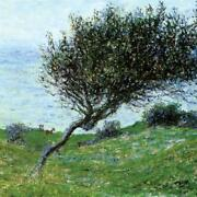 Design Toscano Seacoast At Trouville 1881 Canvas Replica Painting Small