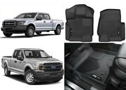 Husky Liners 53341 Black Front X-act Contour For Ford F-150 New Free Shipping