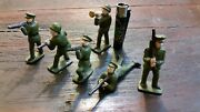 Lot 6 Lead Or Tin Soldiers Very Old