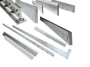 New 10and039 X 3/8 Metal Guillotine Blades Compatable With Pearson Shear