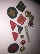 Vintage Scout / Girl Guide Badges, Patches, Pins