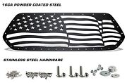 Custom Steel Grille American Flag Wave Fits Toyota Tacoma 2016-2017 Truck Grill