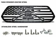 Steel Aftermarket Grille Fits Toyota Tacoma 2016-2017 Grill Liberty Or Death
