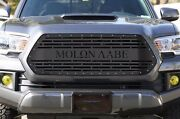 Custom Steel Aftermarket Grille Fits Toyota Tacoma 2016-2017 Grill Molon Labe