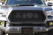 Custom Steel Aftermarket Grille Kit For 16-17 Toyota Tacoma Grill Suit Of Cards