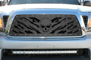 Custom Aftermarket Steel Grille Fits 2005-2011 Toyota Tacoma Grill 3pc Nightmare