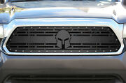 Custom Steel Aftermarket Grille Kit Fits 2012-2015 Toyota Tacoma Grill Spartan