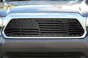 Custom Steel Grille Kit Fits 2012-2015 Toyota Tacoma American Flag Truck Grill