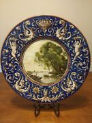 Faenza Ccm Charger Plate - Fabbrica Faventina Ars - Ceramic - Italy