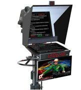Professional Teleprompter Vss-19pro Adjustable For Any Size Camera/camcorder