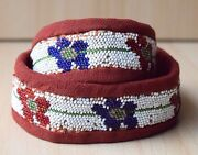 Traditional Collectible Antique Native North American Beaded Handmade Belt 17