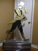 Johnnie Walker Whisky 5 Ft Statue Display Piece Man Cave Whiskey New