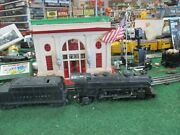 Lionel Pw 224 2-6-2 Die Cast Steamer With 2466wx Tender Exc Orig Cond 1946