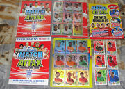 Match Attax England 2010 Complete Set 427 Cards + 6 Autos + All 18 Le Cards