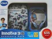 Vtech Innotab 3s Blue Camo Learning System Accessory Pack Bundle