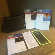 2014 Toyota Camry Hybrid Owners Manual Set With Navigation Book With Case
