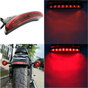 Motorcycle Led Brake Tail Light License Plate For Harley Forty Eight Seventy Two