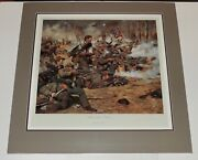 Don Troiani - Gray Wall - Matted And Shrinkwrapped - Collectible Civil War Print