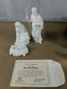 Lenox The Nativity Holy Family Bisque New In Box Made In Japan W/ Coa H4