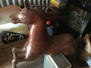 Antique Carousel Horse Handcarved And In Great Shape Full Sized