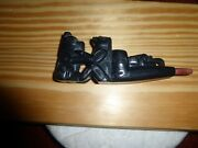Argillite Haida Bear-woman-man-frog 3-d Panel Pipe New-excellent Must See