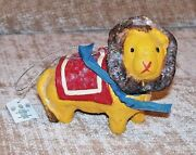 Circus Lion Penny Mcallister Ornament Figurine New In Box