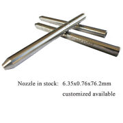 Waterjet Nozzle Focusing Tube For Water Jet Cutting Head Nozzle 6.35x0.76x76.2